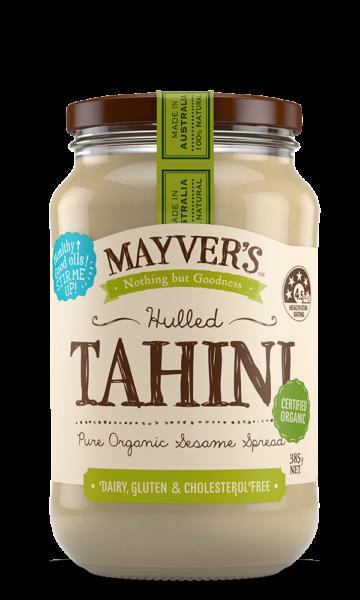 Mayvers-Tahini-Hulled-Organic-385g