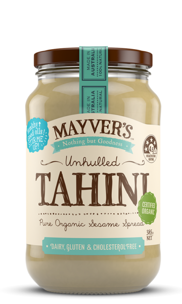 Mayvers-Tahini-Unhulled-Organic-385g