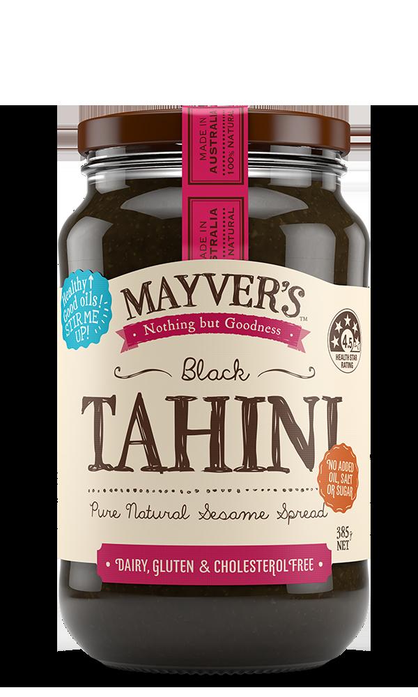 Mayvers-Tahini-Black-385g