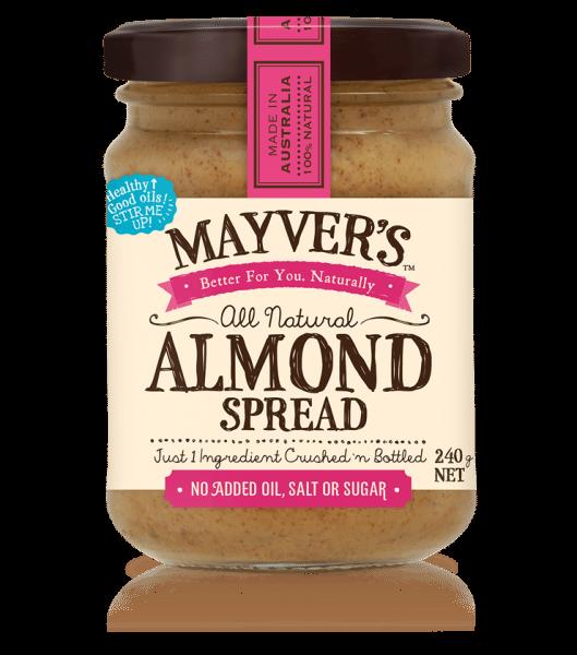 MAYVER'S ALMOND SPREAD