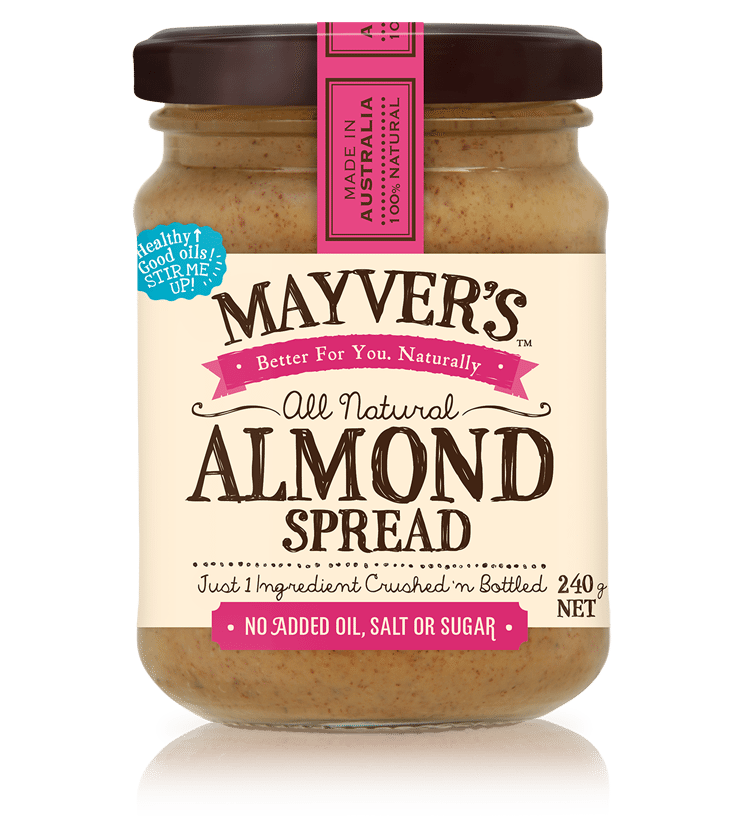 MAYVER'S ALMOND SPREAD