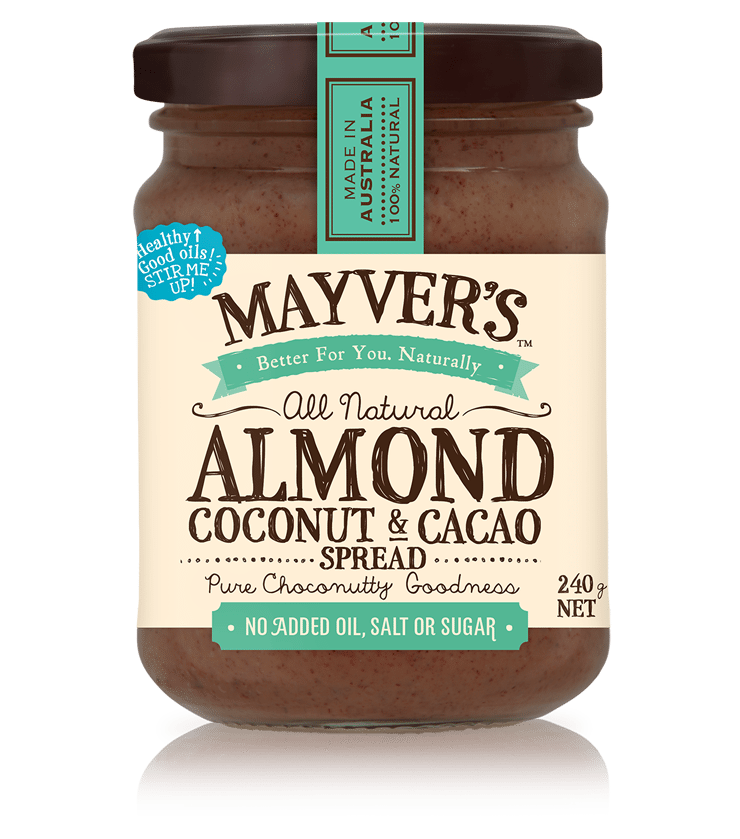 MAYVER'S ALMOND, CACAO AND COCONUT SPREAD