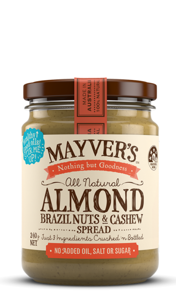 Mayvers-Almond-Brazil-Cashew-240g