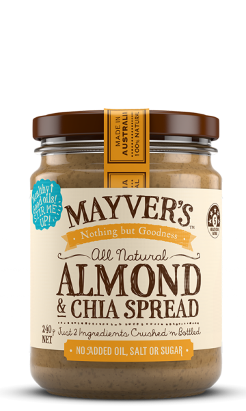 Mayvers-Almond-Chia-240g