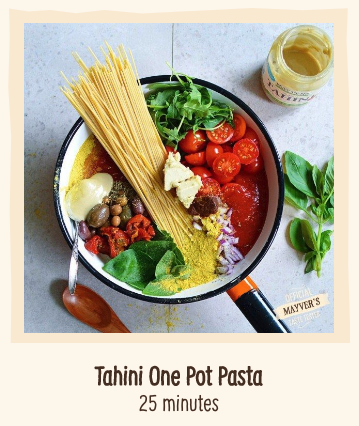 Tahini One Pot Pasta