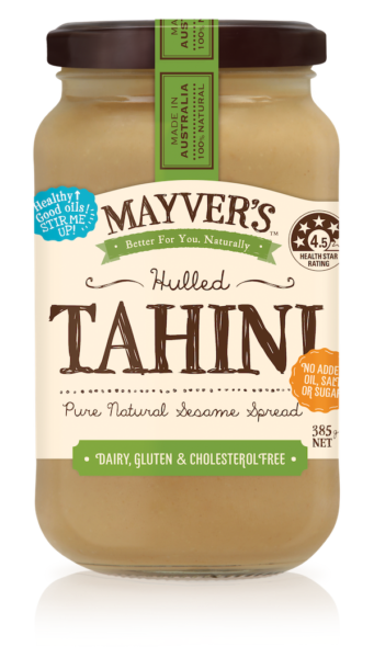 Tahini Hulled Mayver's 100% natural