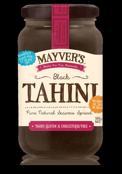 MAYVERS TAHINI BLACK 385g
