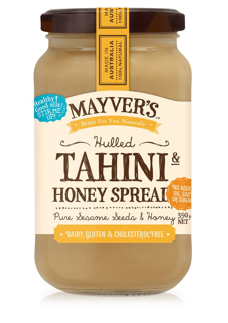 MAYVERS HULLED PURE STATE TAHINI HONEY 390g