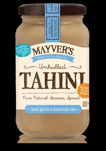 MAYVERS UNHULLED TAHINI 385g