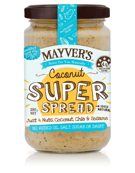 MAYVER'S PURE STATE COCONUT SUPER SPREAD