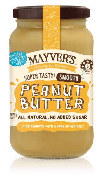 MAYVER'S Peanut Butter Smooth 375g