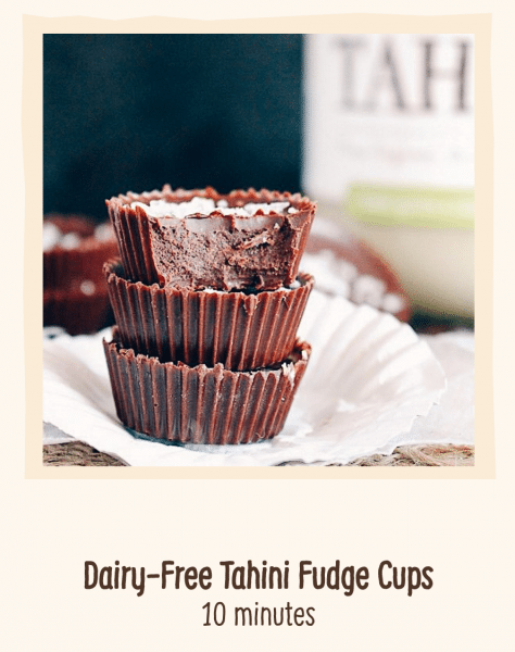 Fudge Chocolate Cups