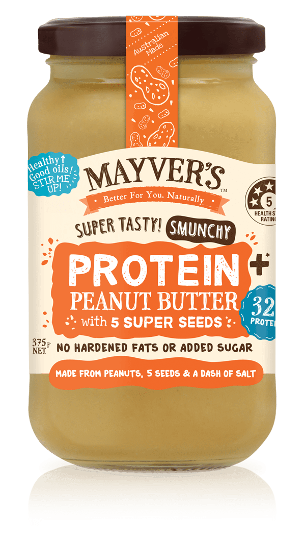 Mayver's Peanut Butter Protein Plus with Super Seeds