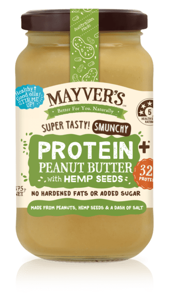 MAYVER'S PROTEIN Plus Peanut Butter with Hemp Seeds
