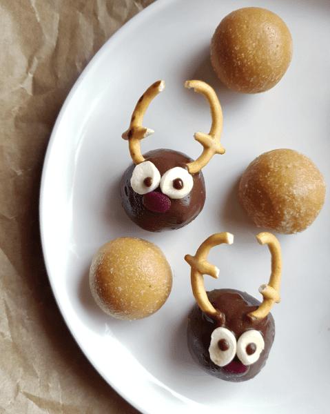 Cookie dough Reindeer