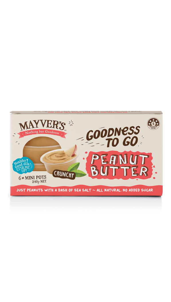 Mayver's Goodness to go Peanut Butter