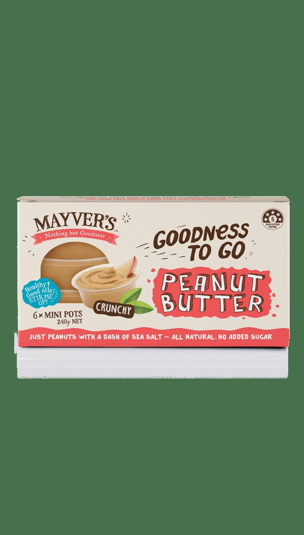 Mayver's Goodness to go Peanut Butter