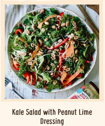 Kale Salad Peanut Lime Dressing