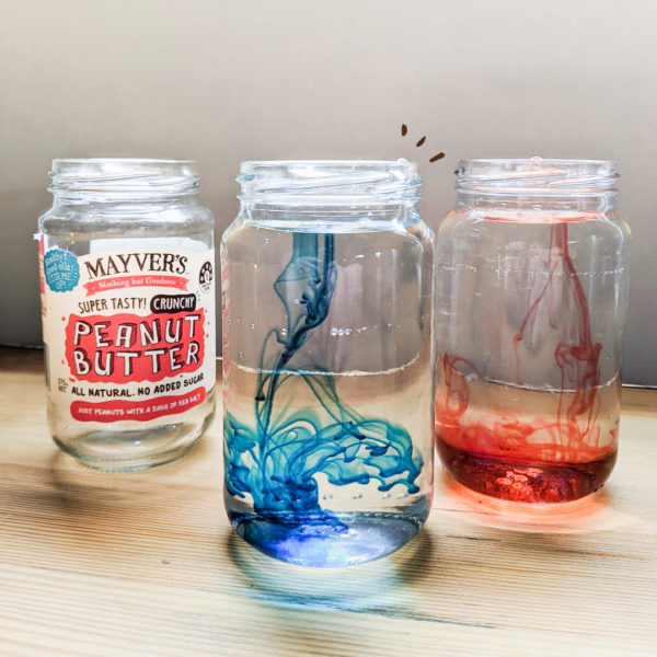 Science Experiments in Mayver's Jars