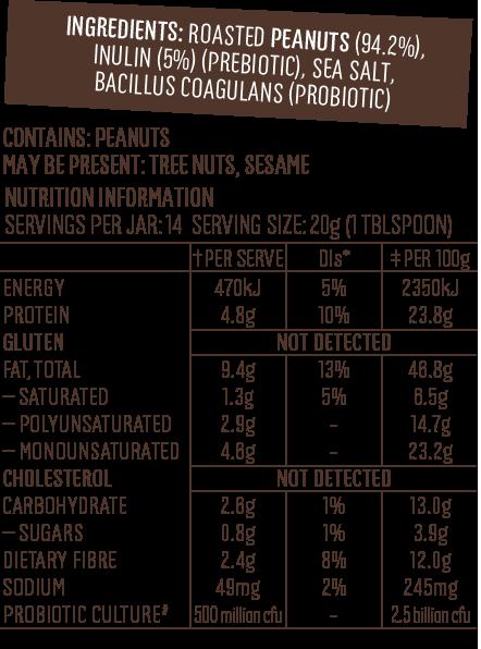Probiotic-Label-NIP Super Peanut Butter